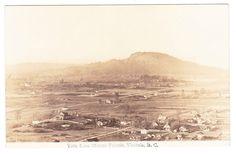 BC – VICTORIA, Saanich & Mt. Doug Seen from Mt. Tolmie, Porritt c.1924-1949 RPPC