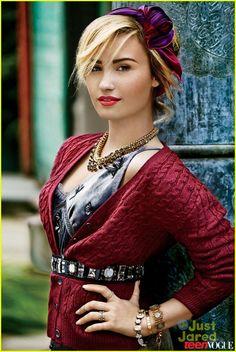 Demi Lovato Covers 'Teen Vogue' November 2013 | demi lovato teen vogue november cover 01 - Photo