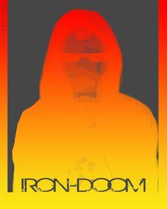 Self potrait turn to Iron-Doom