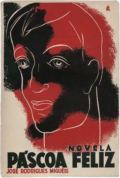 Páscoa feliz,José Rodrigues Miguéis,Edições Alfa,design Fred Kradolfer, 1932