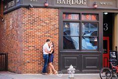 Bardog Tavern || Downtown Memphis Engagement Photo Shoot || Portrait || City || Bar || Christen Jones Photography