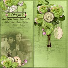 I love you! LO by Monique - theStudio Gallery  Summer Romance Collab by #ADBDesigns - theStudio Gallery Collection only $11.99 for ALL 9 products!