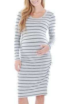 Everly Grey EverlyGrey 'Hanh' Maternity T-Shirt Dress available at #Nordstrom