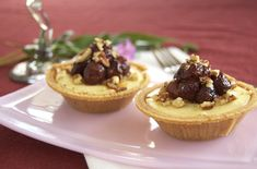 Goat Cheese Sweet Potato Cheesecakes w/ Roasted Grapes - must try this with my own Gluten-Free crust