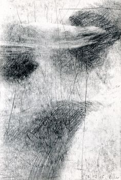 Gerhard Richter,  23.12.1985 (1985), Graphite on paper, 23.8 cm x 16 cm