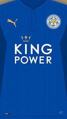 Leicester City 17-18 kit home