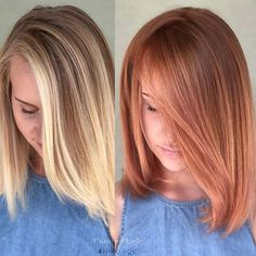 23 Most Beautiful Strawberry Blonde Hair Color Ideas 23 Most Bea. 23 Most Beautifu Brown Ombre Hair, Brown Blonde Hair, Ombre Hair Color, Blonde Color, Copper Blonde Hair, Copper Balayage, Honey Balayage, Brown Balayage, Hair Colour