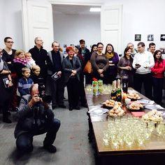 From January 18, 2014 vernisage. It was the two pics that representad me :) Dziękujemy wszystkim za przybycie na wernisaż wystawy #mobilnytydzien!!! Esz, po prostu, serce rośnie!!! Jesteście wspaniali! :) ❤️❤️❤️