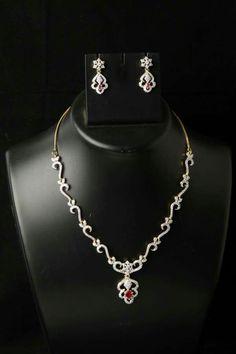 American diamond set 1