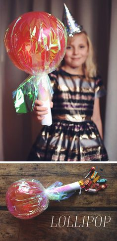 Lollipop Birthday, Diy And Crafts, Crafts For Kids, A Little Party, Fika, Party Games, Christmas Bulbs, Presents, Halloween