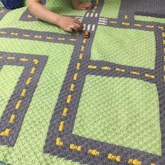 INSTANT DOWNLOAD Road Crochet Graph Crochet Pattern