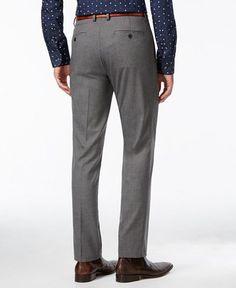 Kenneth Cole Reaction Men& Slim-Fit Stretch Dress Pants, Only at Macy& - Pants - Men - Macy& Slim Fit Dress Pants, Stretch Dress Pants, Slim Fit Dresses, Slim Fit Suits, Fitted Suit, African Men, True Quotes, Men's Style, Men's Fashion