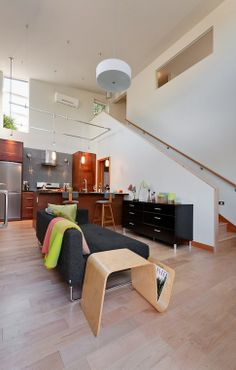 Home design. I like the openness of the kitchen and the living space. The design is very contemporary.