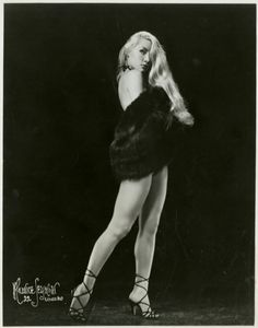 """Lilly Christine """"The Cat Girl"""", Burlesque Queen of the 1950s"""