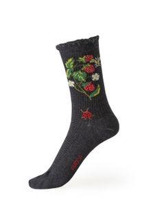 'Berry Nice'. Bugs & Berries Cotton Ankle Sock. #Fashion #IrishDesign
