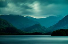 Beautiful UK lake.  Also looks like where Dumbledore's grave was in the HP films.