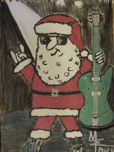 delirious dark: Wir wünschen allen rockige Weihnachten !!! We wish all rocking Christmas !!!