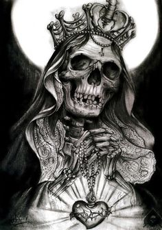 Skull Art by Alex Gotza ☠️