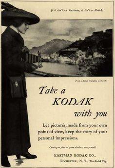 Antigua publicidad Kodak retro