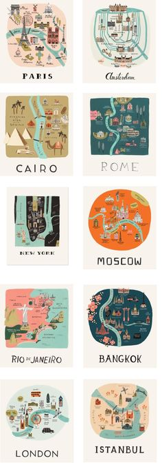 Metropolis illustration for an industrial and unique ornament cities d Travel List, Travel Goals, Travel Illustration, Map Design, Grafik Design, Vintage Travel, Travel Posters, Bangkok, Places To Travel