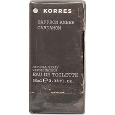 Korres Saffron ($37) ❤ liked on Polyvore featuring beauty products, fragrance, fillers, beauty, black, perfume fragrance, korres perfume, korres, parfum fragrance and korres fragrances
