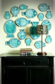 Ceramic Fish Plates - Ideas on Foter plate designs plate sets plate plate presentation dinner plate plate on wall photography