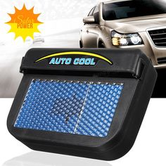 Once activated with solar energy from the sun the AutoCool Fan works it's magic! Drastically dropping temperatures by 72%!