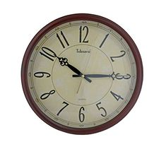 Telesonic Solid Wood Frame Wall Clock with Quiet Sweep Se... https://www.amazon.com/dp/B01DFOAKUW/ref=cm_sw_r_pi_dp_x_YFbwzb6NFXQ8C