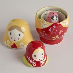 Russian Dolls Measuring Cups(a gift from my good friend Stacey). SO STINKIN CUTE!!!