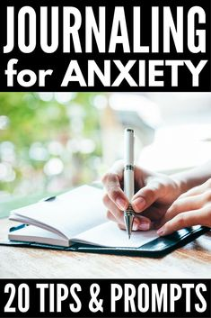 Journaling for Mental Health | Lots of great ideas to teach you how to start journaling for anxiety, depression, and other mental health challenges as well as for therapy and general self-care. Find out how to get started writing today, keep your thoughts and creativity flowing on the daily, and check out 15 of our favorite therapy journal prompts!