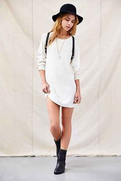 Urban Renewal Ribbed XL Tunic - Urban Outfitters 49.00
