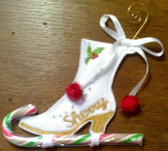 FREE ITH Boot Candy Holder   Free Embroidery Designs, Cute Embroidery Designs