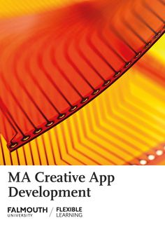 Study at the UK's Arts University from home. Discover how our MA in Creative App Development can enhance your career. Cambridge Education, Online Masters Degree, Falmouth University, Employment Opportunities, App Development, Online Courses, Flexibility, Learning, Creative