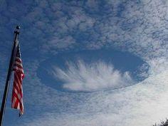 10 'X-Files' Worthy Weather Phenomena: Hole Punch Clouds
