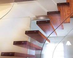 Image result for clear stairs