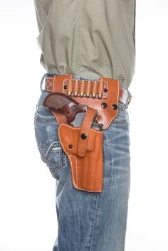 Paired perfectly with our Alaskan Hunter Holster, the Alaska Hunter Drop Loop accessory adds not only the ability to carry your holster lower on your hip, bu. Leather Concealed Carry Holsters, Custom Leather Holsters, Leather Harness, Rhino Revolver, Western Holsters, Gun Holster, 1911 Holster, Leather Projects, Bracelets