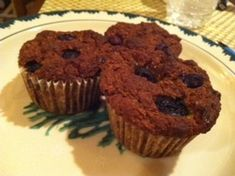 These muffins are not only delicious but gluten free, sugar free, can stabilize your blood sugar and filled with antioxidants!