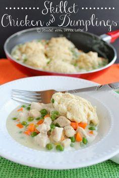 Skillet Chicken & Dumplings1