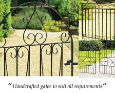 A range of garden gates to suit all requirements Garden Gates For Sale, Gate Images, Metal Gates, Outdoor Structures, Suit, Range, Design, Cookers