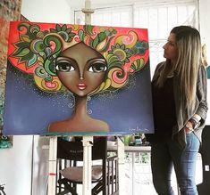 3d Art Drawing, Art Drawings, Arte Disney, Disney Art, Stella Art, African Art Paintings, Frida Art, Black Art Pictures, Cubism Art