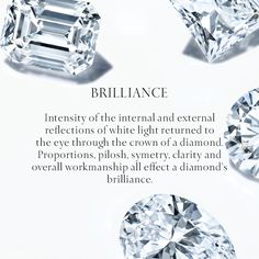 Treasured from the moment they're culled from the earth, Tiffany diamonds are transformed from rough gems to refined beauty.