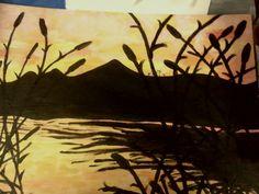 acrylic on canvas panel