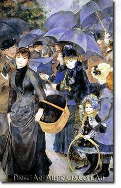 Renoir | The Umbrellas - Direct Art Australia,  Price: $199.00,  Availability: Delivery 10 - 14 days,  Shipping: Free Shipping,  Minimum Size: 50 x 60 cm,  Maximum Size : 100 x 150 cm,   View the artwork before it is sent!   www.directartaustralia.com.au/