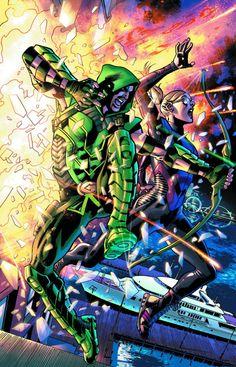 comicsodissey:  GREEN ARROW #36