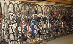 diy freestanding bike rack - Google Search