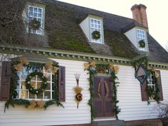Grand Illumination in the Historic Area: Colonial Williamsburg, Virginia