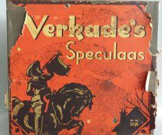 Verkade's koekblik / speculaasblik