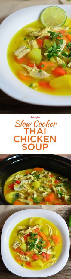This chicken soup has powerful immune boosters and would be a great soup to combat the sniffles, cold, or flu when you're feeling under the weather!