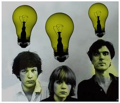 Talking Heads — Circa 1975, back when Talking Heads was just a trio.