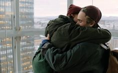 Skam and these two are my new obsession. This hug was so quick but one of my favorite things between them. You can see how safe Isak feels in Evens arms. Ugh they kill me.